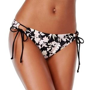 NWT Bikini Nation Printed Side-Tie Hipster Bottoms